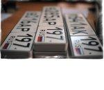 В России легализуют выдачу красивых автомобильных номеров