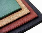 Производство плитки из резиновой крошки: тенология и оборудование