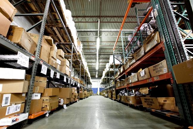 Ввод складских площадей в Петербурге в 2014 году в 3 раза больше предыдущего
