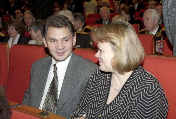 Сергей и Ирина Шойгу