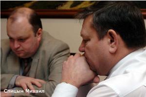 Двас Григорий, вице-губернатор Ленобласти, Сердюков Валерий, губернатор Ленобласти.