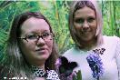 Россия, Санкт-Петербург. Лариса и Светлана Громовы, владелицы выставки живых тропических бабочек «Мир бабочек»