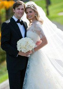 Одна из самых богатых невест - Иванка Трамп вышла замуж