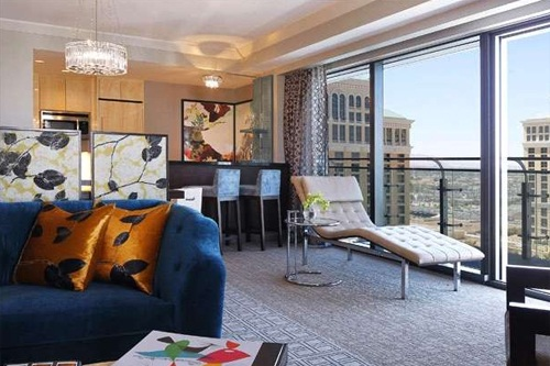 Wraparound Terrace Suite: The Cosmopolitan Las Vegas