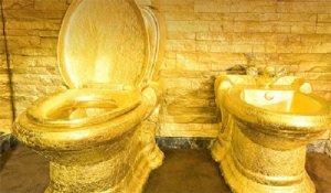 Золотые бассейн, ванна, унитаз и десерт – «золотая лихорадка»?
