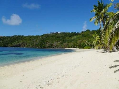 Розовый пляж на Багамских островах, США