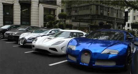 Выставка товаров класса люкс в Лондоне привлекла миллионеров со всего мира