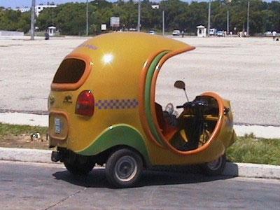 Скутеры-такси на Кубе