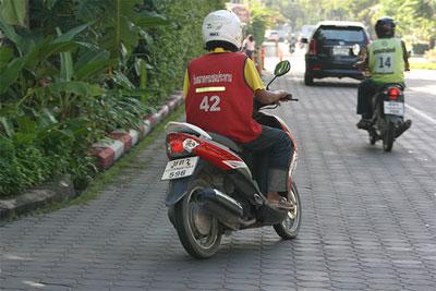 Скутеры-такси в Таиланде