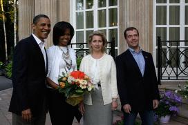 Рабочий визит президента США Б.Обамы в Россию