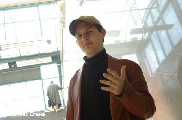 """Дуров Павел, создатель социальной сети """"ВКонтакте.ру""""."""