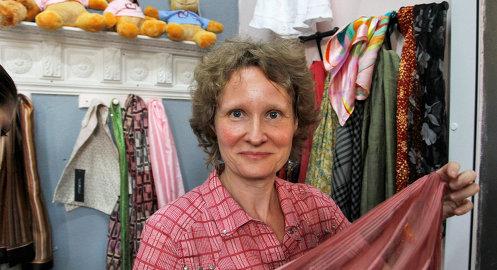 Основатель благотворительной «Лавки радостей» Катя Бермант