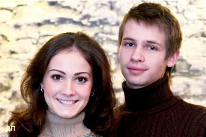 Алена Иванова и Максим Енов