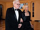 Уоррен Баффет с супругой. Март 2012 года