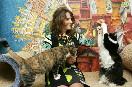 Россия, Санкт-Петербург.  Кафе «Республика кошек». На снимке: Анна Кондратьева, владелица кафе. (Фото: Trend/ Сергей Коньков)
