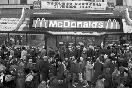 Открытие ресторана Макдональдс в Москве, 1990 год (Фото: Итар-Тасс)