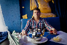 Хозяин ресторана &quot;Эфес Истанбул&quot; Ибрахим Ташорен<br />                           (Фото: Лучинский Евгений)