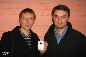 Алексей Гришаев и Андрей Степанчук, авторы проекта visiosystems.ru