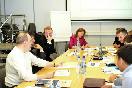"""Круглый стол в """"ДП"""" , руководители КУГИ и КЗР встретились с малым бизнесом, на фото Мария Смирнова"""