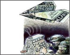 Графики: Бюджет военного времени