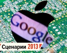 IT-лидеры в 2013-м: Facebook зарабатывает, Apple ослабевает, Google прогрессирует