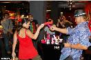 """Открытие """"Точки G"""" в Москве. Певица Наташа Королева и Тарзан (Фото: tochkag.net)"""