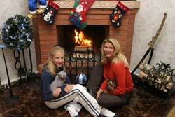 Первое Рождество после возвращения из Америки. Фото: Майорова Юлия