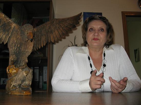 Марина Пархачева, генеральный директор консалтинговой фирмы «Экон-Профи». Фото Сергея Васильева, ИА