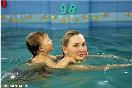 Россия, Санкт-Петербург. Татьяна Пензина с сыном.