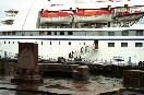 Пароход. Пристань, пароход, теплоход, пассажир, трап, шлюпка.<br />                         (Фото: Зыгарь Ирина)<br />