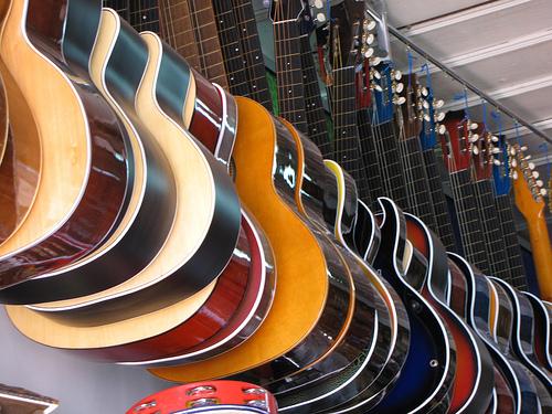 бизнес музыкальные инструменты