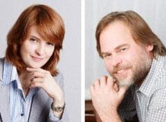 Наталья и Евгений Касперские