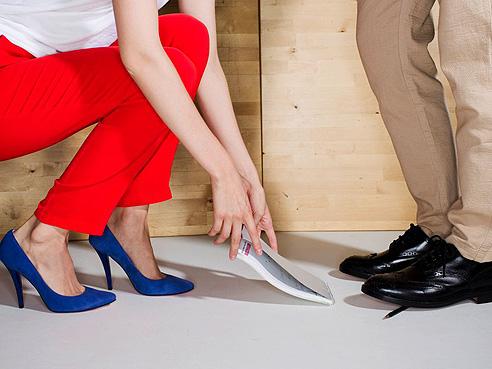 В Trends Brands продается обувь со всего света:<br>например, Lilly's Closet из Бразилии и John White из Англии