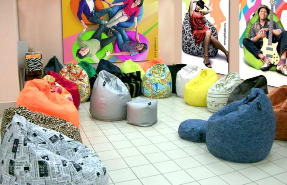 мягкие мешки для интерьера - история успеха