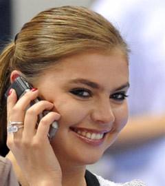 Алина Кабаева. Фото (c)AFP