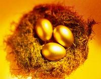 золотые яйца