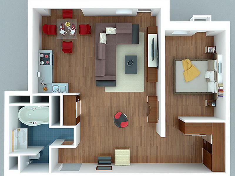 Невероятное превращение квартиры в студию