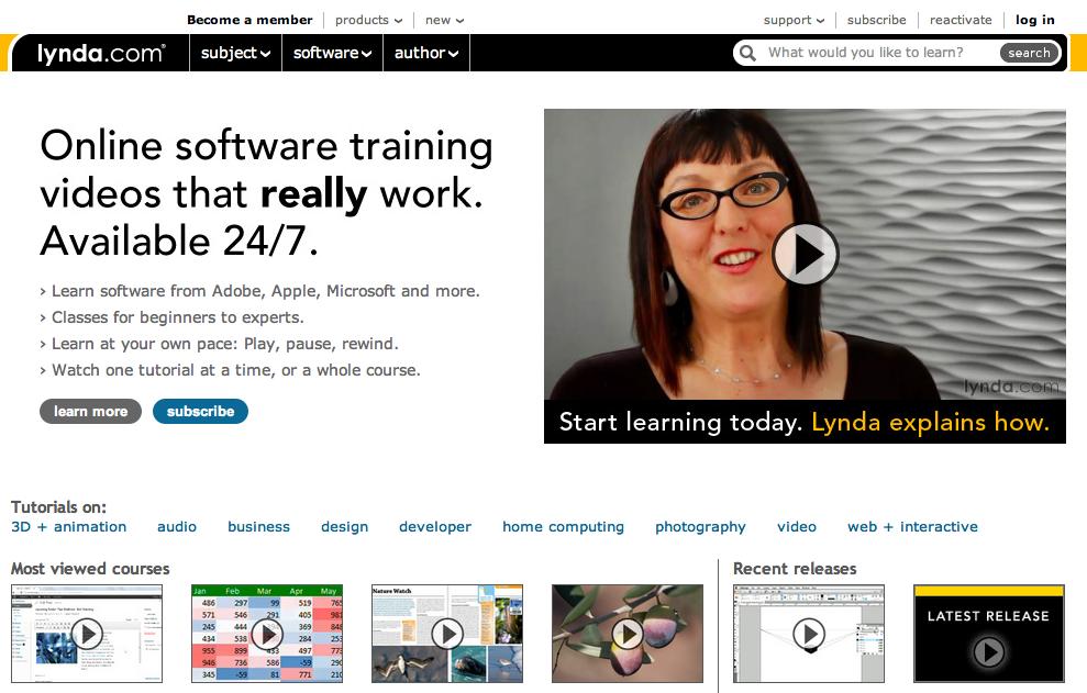 Как образовательный стартап Lynda.com сумел довести объем дохода до $100 млн, не вложив ни копейки венчурных денег