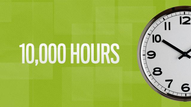 правило 10000 часов: стать экспертом в любой области