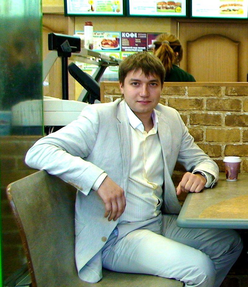 Андрей Руденко - впитал общепит с молоком матери