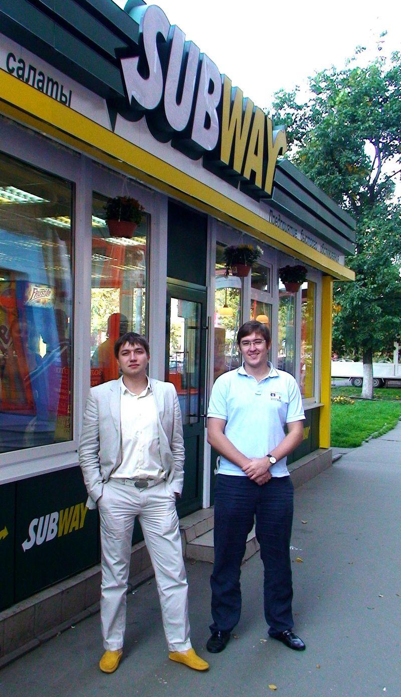Андрей и Евгений Руденко - нашли друг друга на соседних строчках при поступлении в МГУ