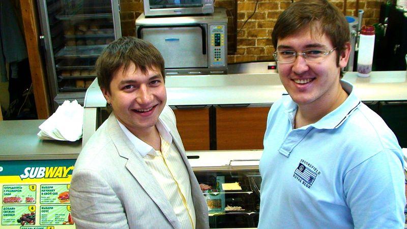 Андрей и Евгений Руденко - общепит, франчайзи Subway
