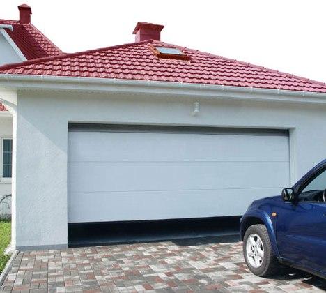 Установка гаражных ворот - легко и просто