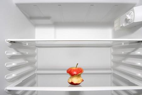 «Чувство голода и пустой холодильник быстро вернули мужа на землю.»