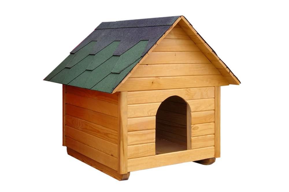 Дом для собаки чертеж